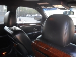 Interior of Lincoln Town Car